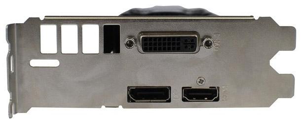 За вывод изображения отвечают DVI-I, DisplayPort и HDMI