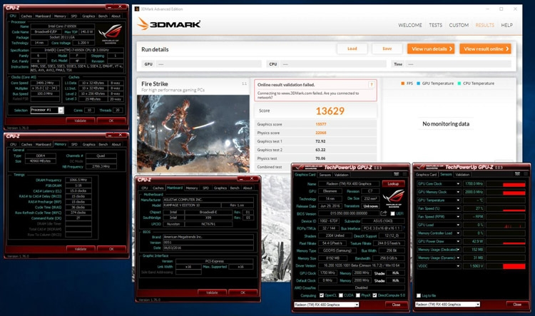 Разгон Radeon RX 480