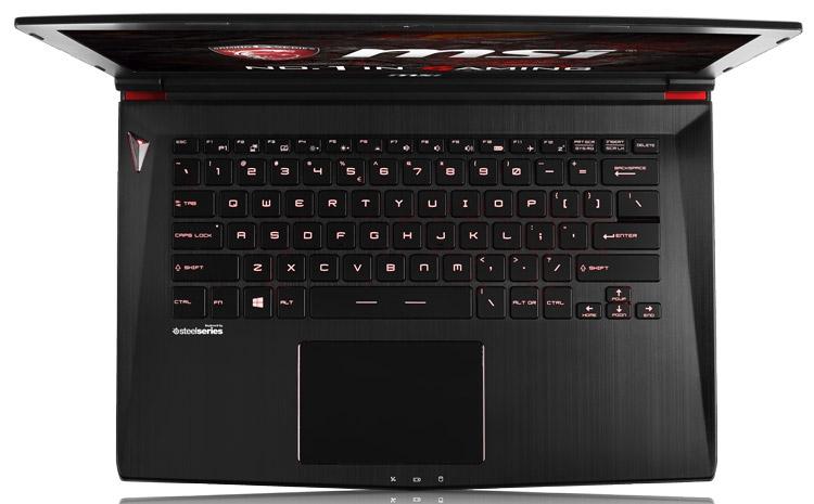 Игровой ноутбук MSI GS43VR
