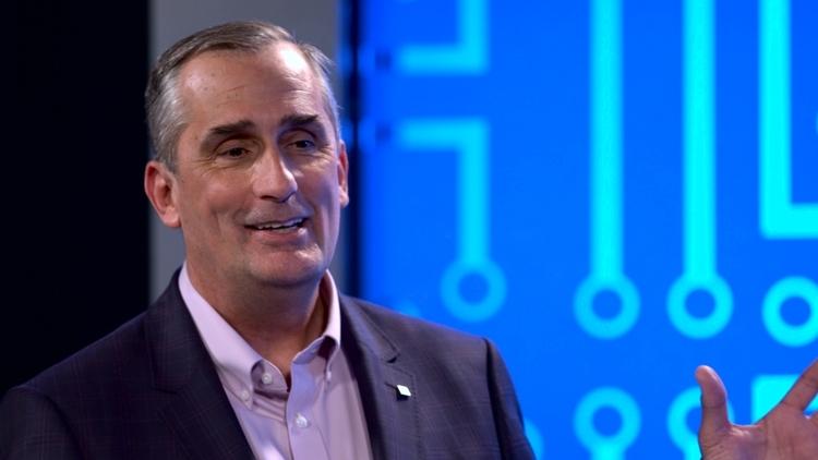 Генеральный директор Intel Брайан Кржанич (Brian Krzanich)