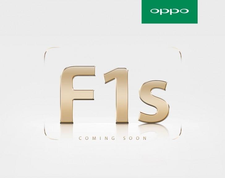 Тизер Oppo F1s