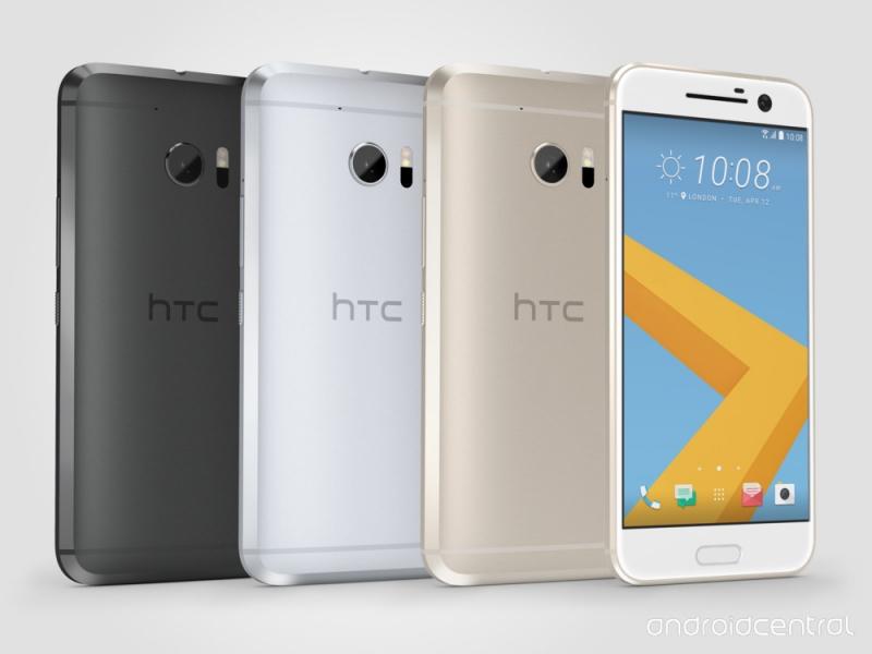 Цвета HTC 10