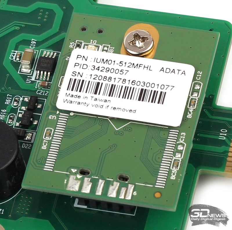 Флеш-модуль ADATA IUM01-512MFHL