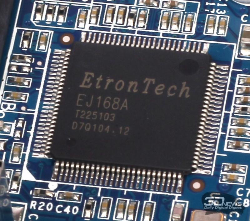 Контроллер интерфейса USB 3.0 EtronTech EJ168A