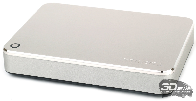 Внешний вид Toshiba Canvio Premium для Mac