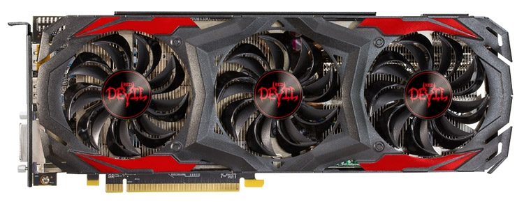 Видеокарта PowerColor Red Devil Radeon RX 480