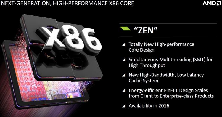 AMD Zen: Основные преимущества