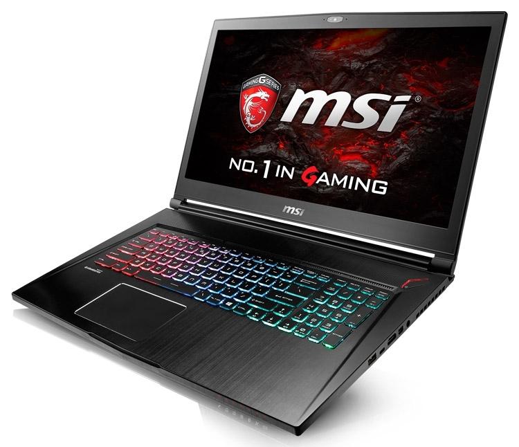 Новинка: тонкий игровой ноутбук MSI GS73VR