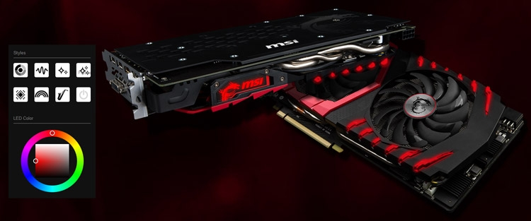 Видеокарта MSI Radeon RX 480 Gaming X 8G