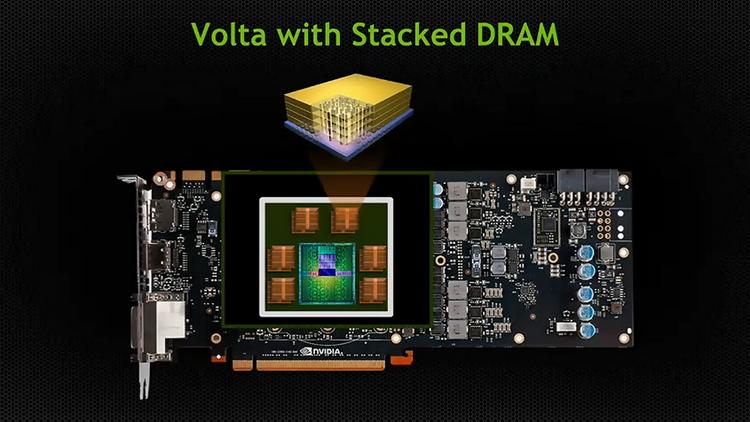 NVIDIA Volta, наконец, получит долгожданную многослойную память