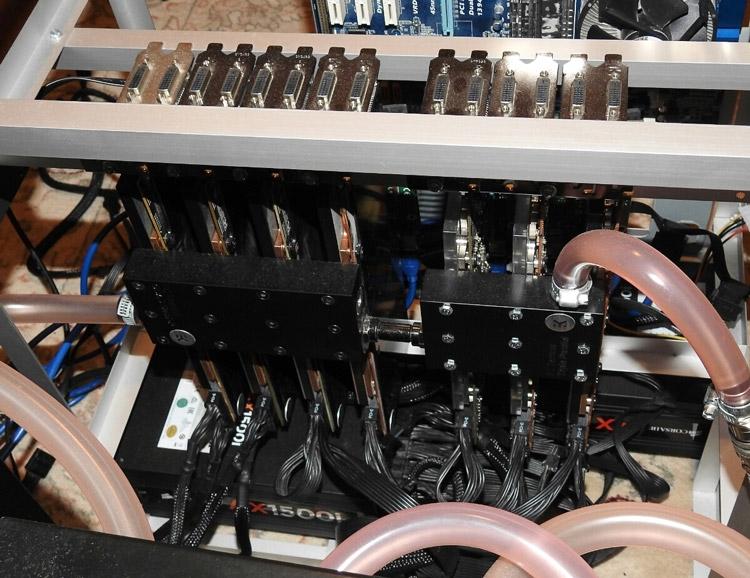 Система OLDcomer охлаждалась СЖО сложной конструкции
