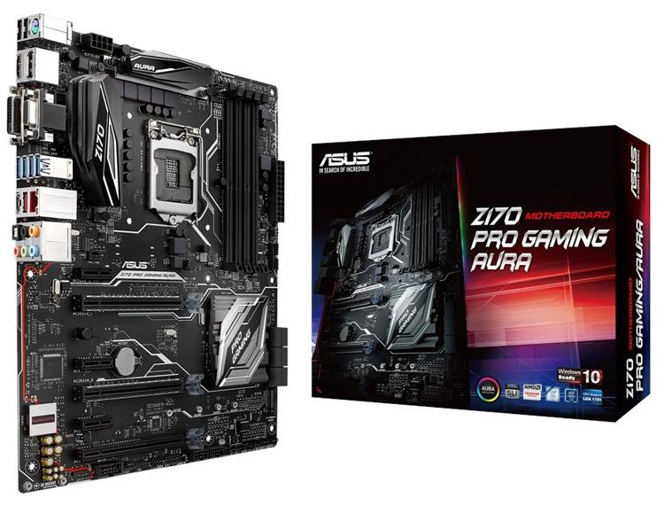 Материнская плата ASUS Z170 Pro Gaming/Aura