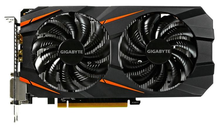 Видеокарта Gigabyte GeForce GTX 1060 WindForce OC 6G