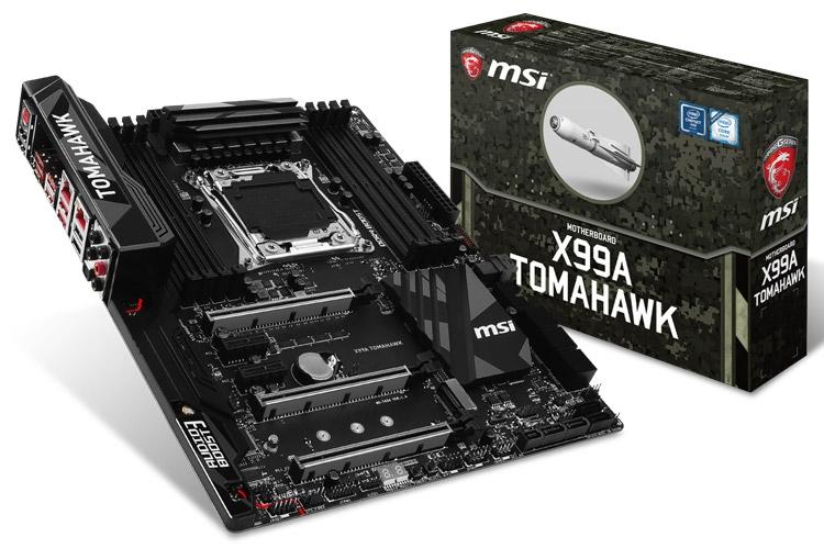 Материнская плата MSI X99A Tomahawk