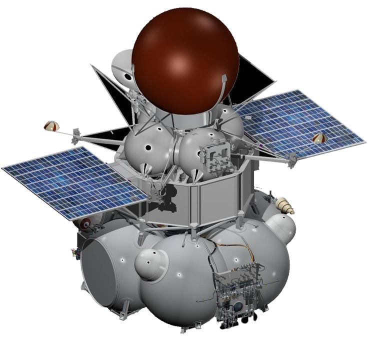 Возможный облик орбитального аппарата миссии «Венера-Д» / ИКИ РАН