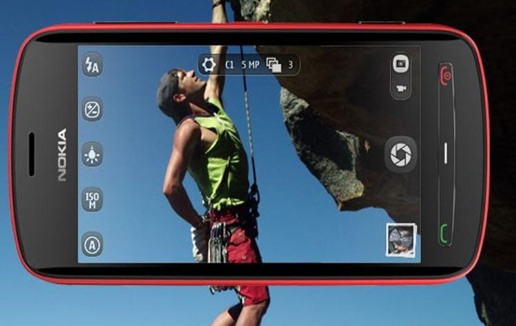 Камерафон Nokia 808 PureView с 41-Мп камерой на базе Nokia Belle