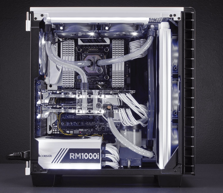 Корпус Corsair Carbide Series Clear 400C White