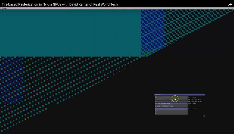 Скриншот анализатора, с помощью которого была раскрыта тайна NVIDIA
