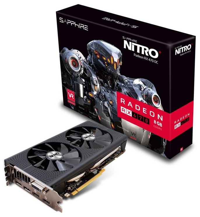 Sapphire Nitro+ Radeon RX 470 8G