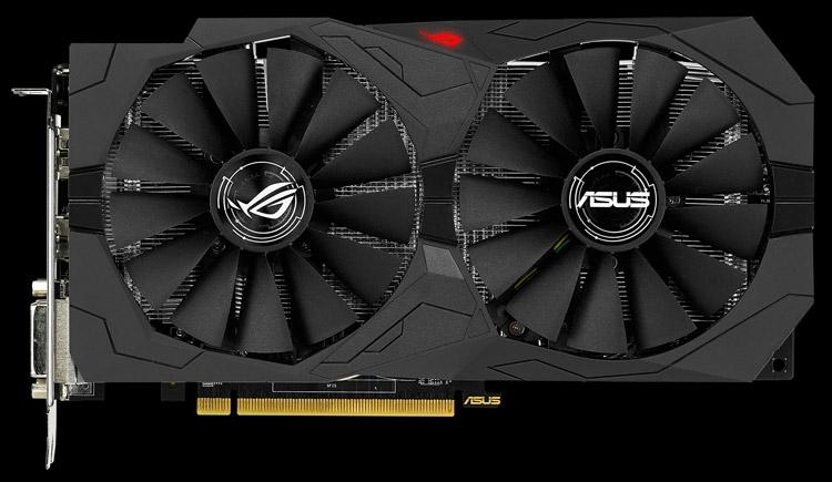 Видеокарта ASUS ROG Strix Radeon RX 470