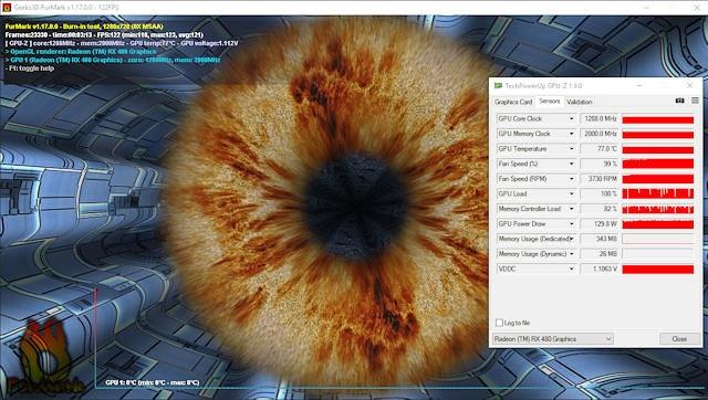 Видеокарта XFX Radeon RX 480 GTR - тест