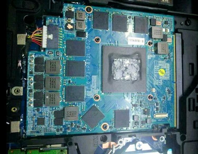 NVIDIA GeForce GTX 1070 Mobile в варианте модуля MXM