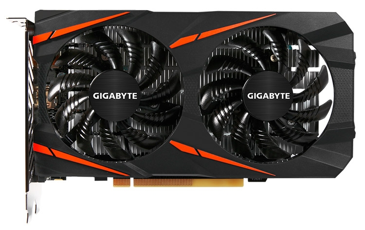 Видеокарта Gigabyte Radeon RX 460 WindForce OC 4G