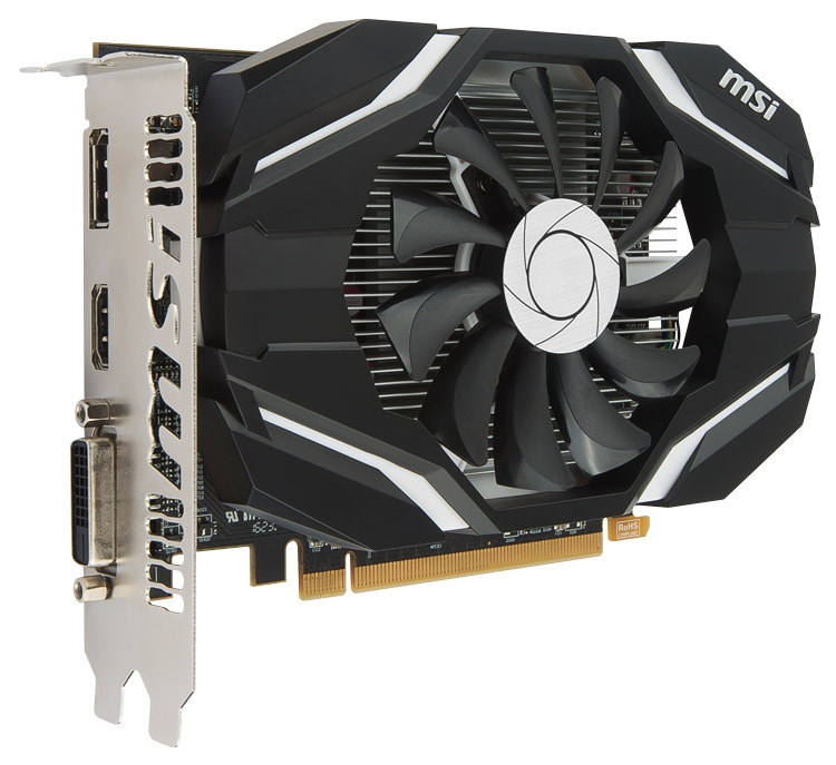 Видеокарта MSI Radeon RX 460 4G OC