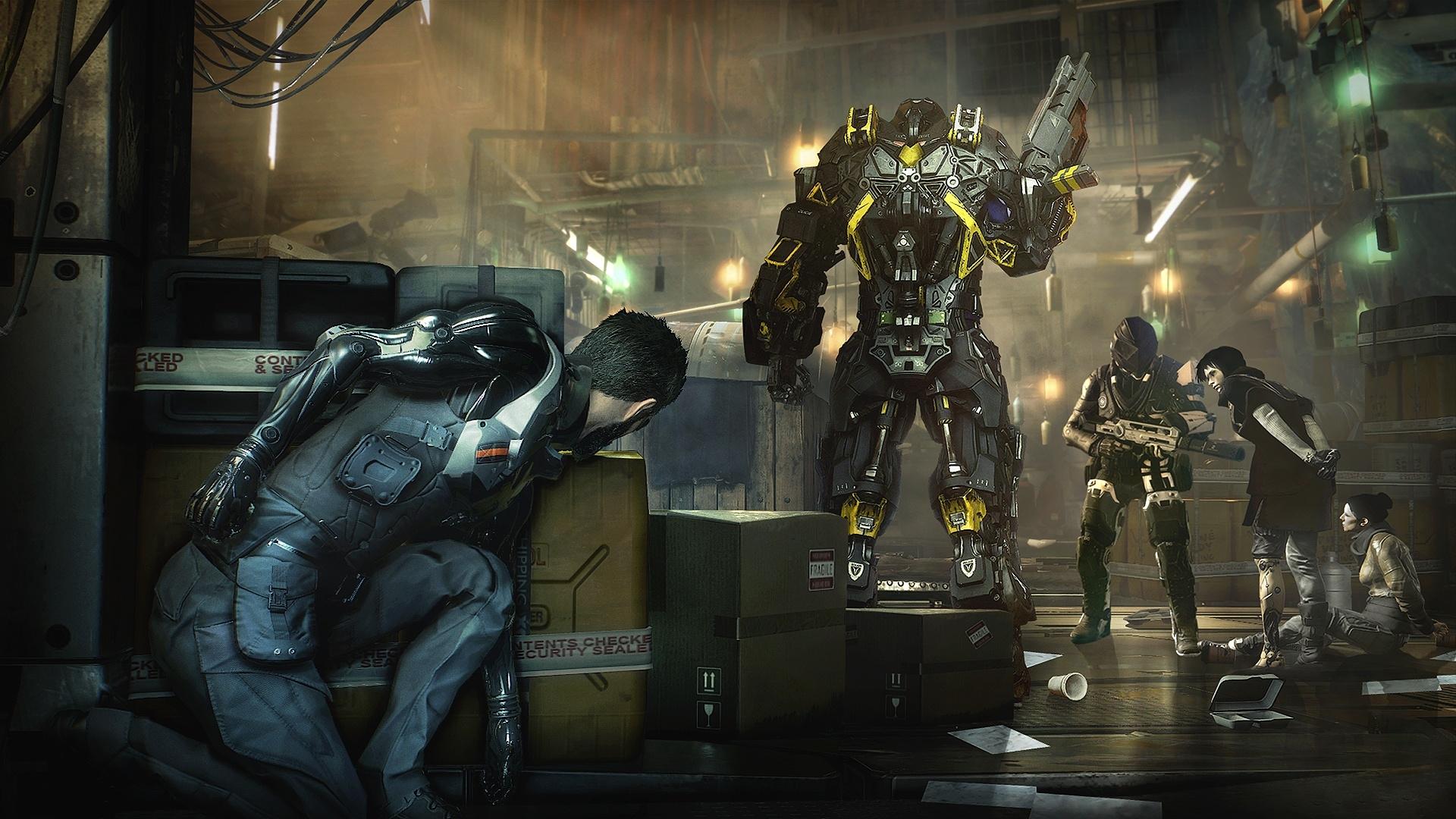 Стелс в Deus Ex: Mankind Divided.