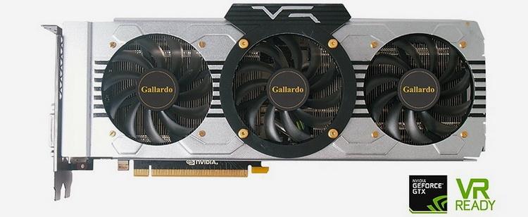 Manli GeForce GTX 1080 Gallardo