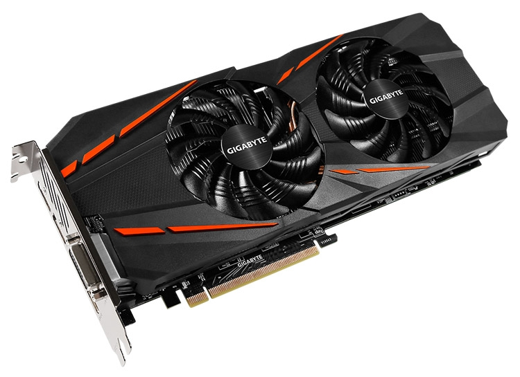 Видеокарта Gigabyte GeForce GTX 1060 D5 3G