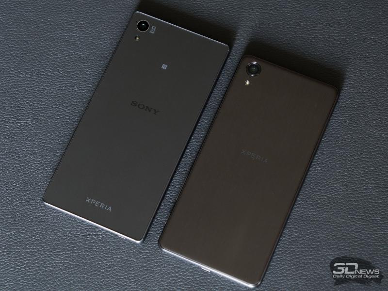 Sony Xperia X5 и Xperia X Performance