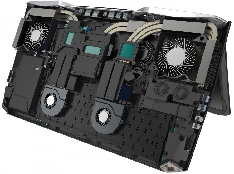 Acer Predator 21 X: Взгляд вовнутрь