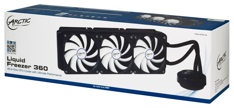 СЖО Arctic Liquid Freezer 360