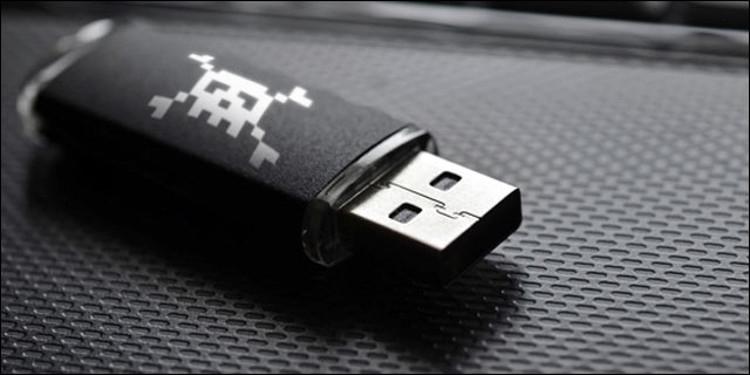 Украсть пароль можно с помощью USB-устройства