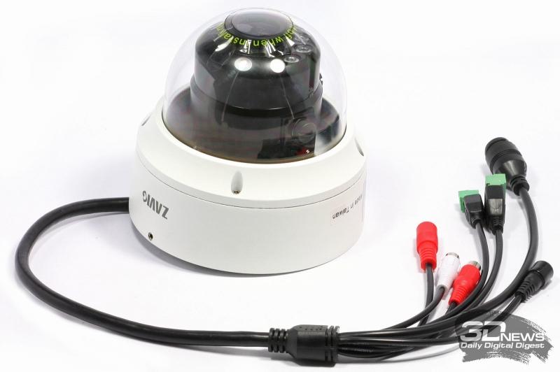 Внешний вид камеры видеонаблюдения ZAVIO D6330