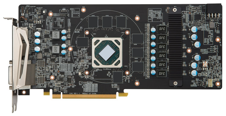 MSI Radeon RX 480 Armor - PCB