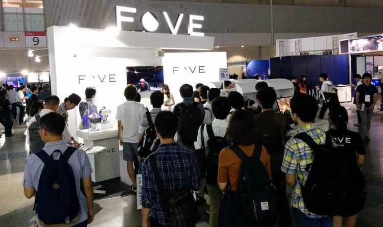 Fove заинтересовал японских энтузиастов, посетивших Tokyo Game Show