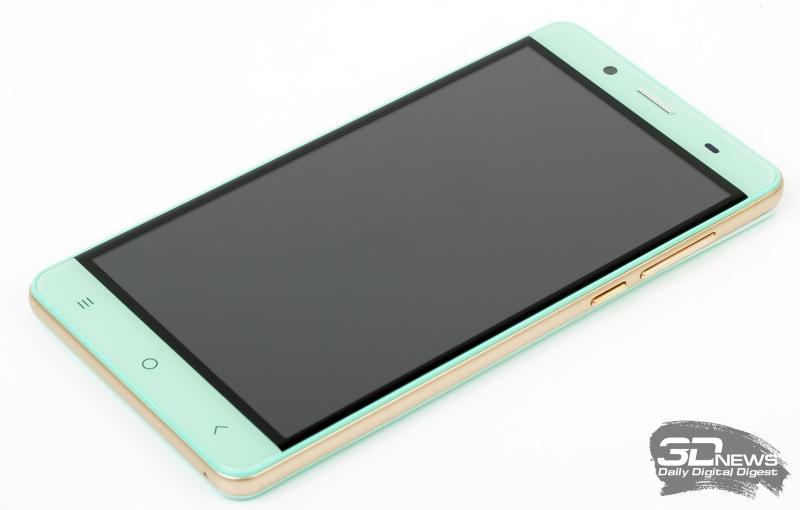 BQ Wide BQS-5515 – лицевая панель