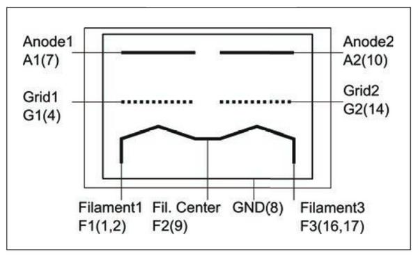 Схема Nutube 6P1