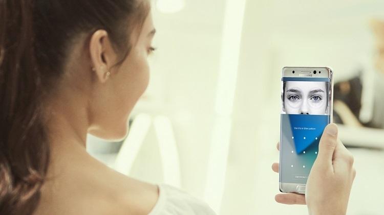 Samsung Galaxy Note 7 со сканером радужной оболочки