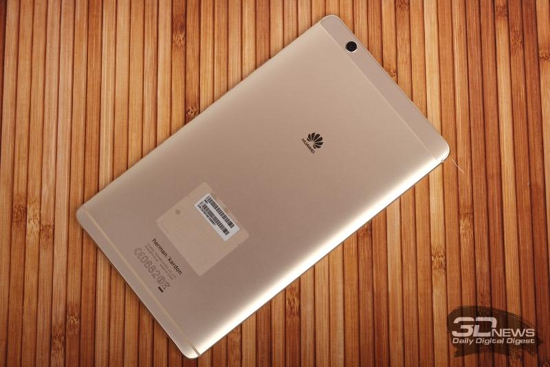 Huawei MediaPad M3 – задняя панель