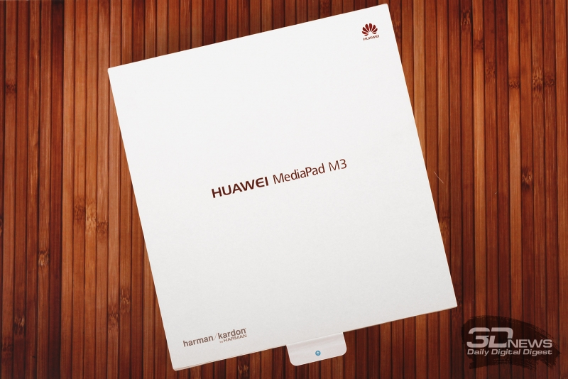 Huawei MediaPad M3 – заводская коробка
