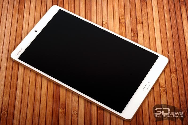 Huawei MediaPad M3 – лицевая панель