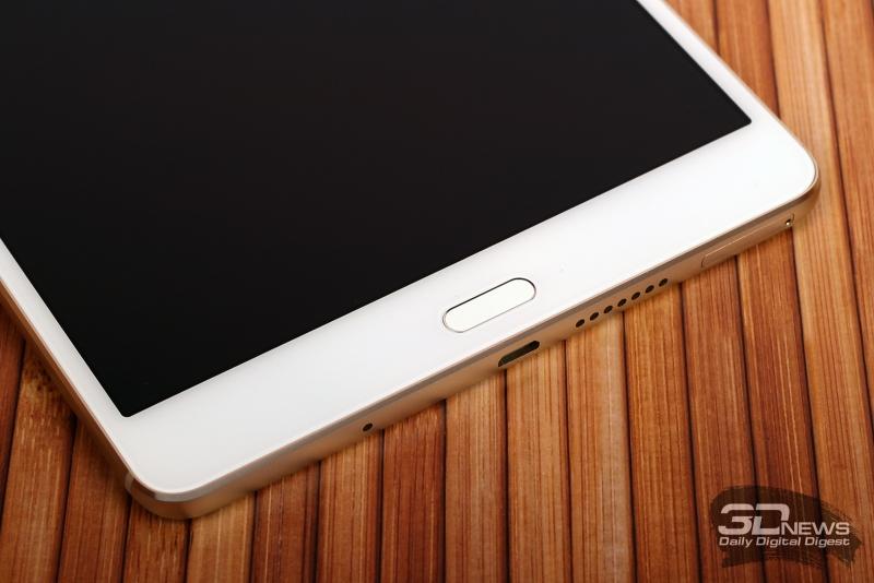 Huawei MediaPad M3 – сканер отпечатков пальцев