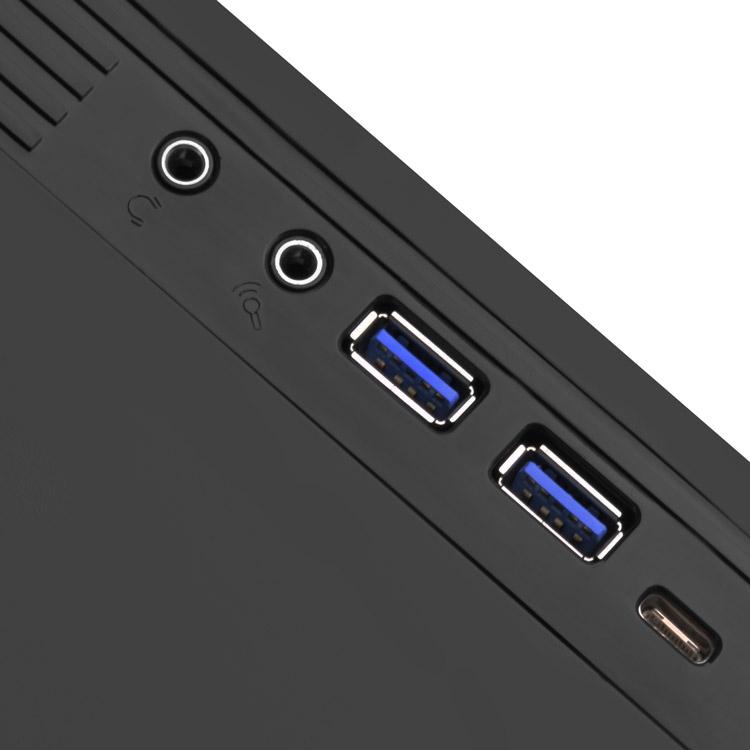 Корпус SilverStone Kublai KL07 - панель I/O