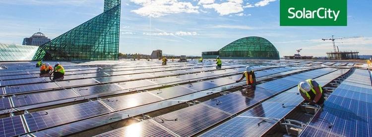 Солнечные панели SolarCity