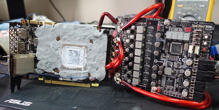 «Зомби-модификация» TITAN X подверглась разгону до 2,19 ГГц