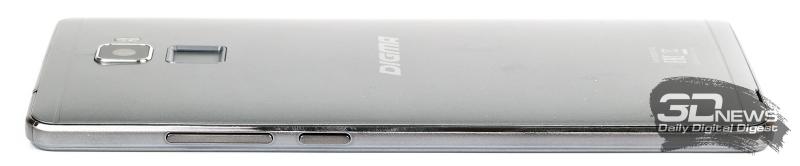 Digma VOX S502F 3G – вид сбоку