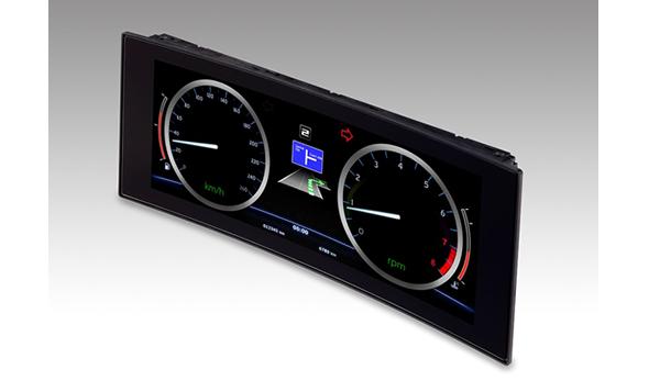 Новый 12,3-дюймовый изогнутый дисплей DJI